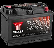 YBX3000 SMF akumuliatoriai