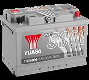 YBX5000 Silver High Performance SMF akumuliatoriai