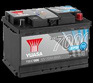 YBX7000 EFB akumuliatoriai