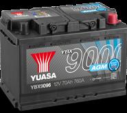 YBX9000 AGM akumuliatoriai